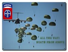 82nd Airborne All The Way Sign