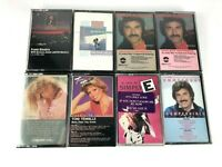 Lot of 8 New & Sealed Audio Cassette Tapes Barbra Streisand Frank Sinatra Simply