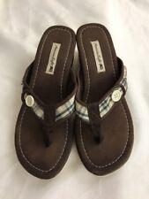 3fcdfe106c29 American Eagle Women s Wedge Heels Canvas Sandals Size 7.5