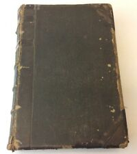 Antique Old Life of Abraham Lincoln Holland Leather Bound Book Collectible