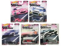 2020 Hot Wheels Fast & Furious Quick Shifters Set of 5 Cars, 1/64 GBW75-956J