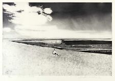 WOLFGANG WERKMEISTER - TRÄUMER IM WATT - Radierung / Aquatinta 1997