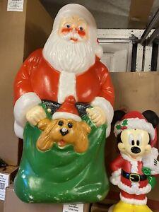 Large Christmas Santa Blow Mold