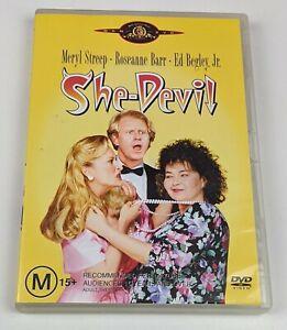 She-Devil - Genuine Region 4 DVD 1989 Meryl Streep Roseanne Barr