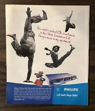 2000 PHILIPS CD RECORDER Print Ad Excellent Color (PH1)