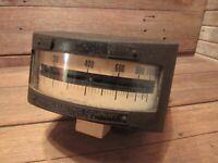 1909 Large General Electric Thomson Wattmeter Vintage Industrial Meter Gauge