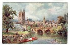 Magdalen College - Oxford Art Postcard c1910