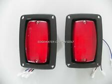LED TAIL LIGHT SET For CLUB CAR, YAMAHA, GOLF CART, TRAILER, RV BUGGY #ECC