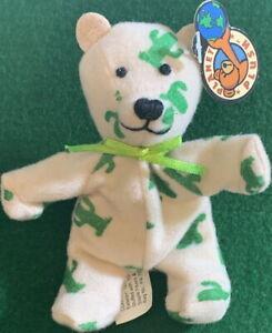 "PLANET PLUSH ""CACTUS"" Arizona 4.5"" Mini Bear by Sally Winey Bean Bag Plush NEW!"