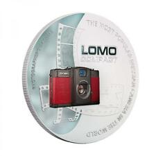 2 coins LOMO 1oz Silver. The first coin ever with a photo camera Niue 2013 $2
