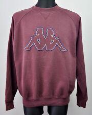 KAPPA Embroidered Big Huge Logo Vintage 90s XL Men's Sweatshirt Jumper Sweater