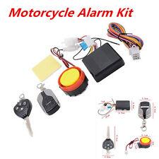 Motorbike Motorcycle Alarm Immobiliser Remote Control Engine Start Keyless Entry
