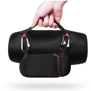Handhold Protective Soft Case Cover Bag with Adapter Bag for JBL