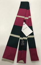 Cravatte e papillon da uomo rosa Paul Smith 100% Seta