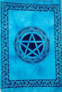 Cotton Tapestry Small Star Altar Cloth Wall Hanging Poster Handmade Indian Hippe