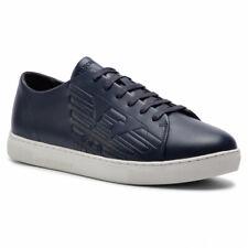 Emporio Armani Men's Shoes Sneakers/Trainers (X4X238-XF332) Blue UK 10 (EU 44).