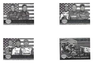 2014 American Thunder BLACK & WHITE PARALLEL #59 Bowman/R Truex #26/50! 1 CARD!