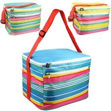 24 Liter Isoliert Kühltasche Camping Picknick Geschenkkorb Doppel Lunchbox