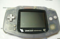Nintendo GameBoy Advance Glacier Purple Handheld System CELEBI POKEMON SCREEN