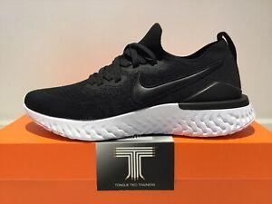 Nike Epic React Flyknit 2 ~ BQ8928 002 ~ Uk Size 12 ~ Euro 47.5