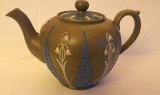 Early 19th Century Stoneware Fern Decorated Teapot