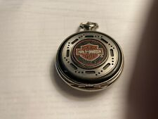 Harley Davidson franklin mint heritage softail pocket watch gift collectible!