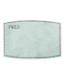 PM2.5 Actvated Carbon Filters Face Mask Washable Reusable PR797 PR796