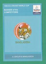 CRICKET -  1999  ICC  CRICKET  WORLD  CUP  POSTCARD  -  NO.  8  -  BANGLADESH