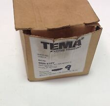 TEMA M23X1.5 PLUG-IN NIPPLE FITTING NIB, 9 IN BOX 4020 E32V 104173