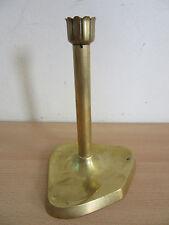 """Antique Art Nouveau signed Geschutzt bronze candlestick 7.5"""""""