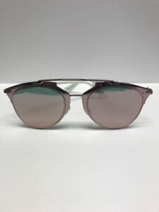 DIOR DIORREFLECTED M2Q0J Pink Mirror Aviator Sunglasses Made in Italy Authentic