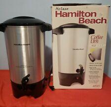 Hamilton Beach Coffee Urn 42 Cup Capacity 40515