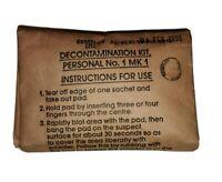 British Army NBC Decontamination Kit No1 MK1