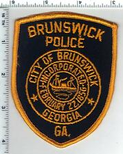 Brunswick Police (Georgia) Shoulder Patch - new from 1980's