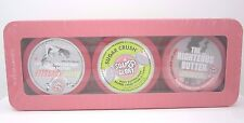 Soap & Glory Body Butter All the Right Smoothes Trio Gift Set Travel Size Sealed