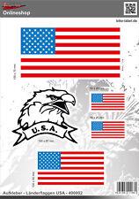 Länderkennzeichen USA 400002 Aufkleber Auto Motorrad Tür Camper Sticker