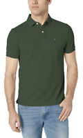 Tommy Hilfiger Men's Short Sleeve Polo Shirt in Custom Fit Small Green