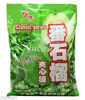 HONGYUAN Fruit Hard Candy (Guava, Strawberry, Plum, Lychee, Peach, Green Apple)
