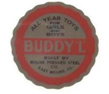BUDDY-L ROUND FLOOR DECAL
