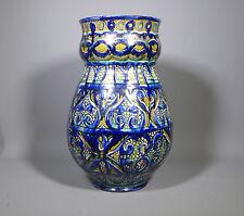 Raro Arts & Crafts della Robbia Birkenhead Florero grande de cerámica de arte siglos Diseño
