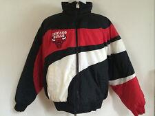VINTAGE 1990's LOGO 7 CHICAGO BULLS NBA BASKETBALL JACKET COAT MEN'S LARGE