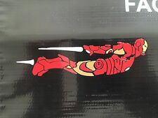"IRON MAN DECAL STICKER VINYL WALL LAPTOP CAR 6"" Length Premium Decal Collection"