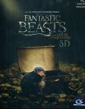 Fantastic Beasts and Where to Find Them (Blu-ray 3D + 2D + Steelbook)