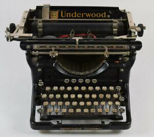 Antique Underwood Typewriter No. 11 Standard Writer