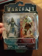 World of Warcraft Action Figures  Horde Warrior vs. Alliance Soldier new