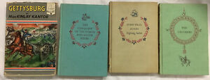 Vintage Landmark Books Set of 4 (1954)