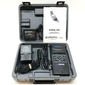 Lowrance Avionics Airmap 300 12 Channel GPS Bundle With Case