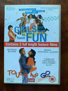 Touch And Go + Girls Just Want to Have Fun DVD 1980s Comedy Movie Double Bill