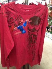 Spiderman Long Sleeve T Shirt Size L 12/14 Nwt
