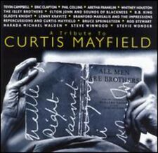 Tribute To Curtis Mayfield (1994, CD NEUF) Clapton/
